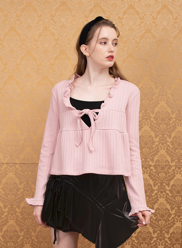 blooming knit (pink)